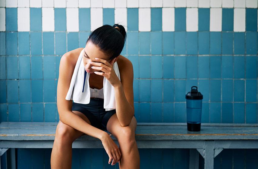 stres sportowiec
