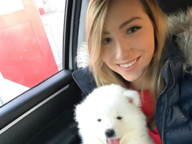 Ania Karcz i nowy członek rodziny