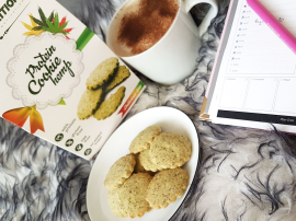 Protein Cookie Hemp - ciasteczka z konopi wzbogacone o izolat białka