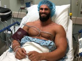 Calum Von Moger po raz kolejny przechodzi operację bicepsa