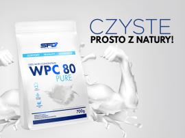 Białko prosto z natury - SFD WPC 80 Pure