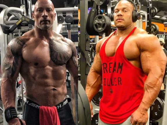"Phil Heath komentuje formę Dwayne ""The Rock"" Johnsona"
