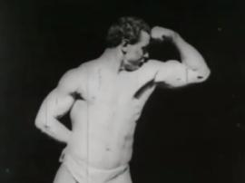 Ojciec kulturystyki Eugen Sandow wideo z 1894 roku!