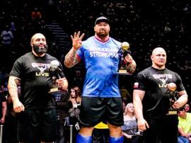 Hafthor Bjornsson utrzymuje tytuł najsilniejszego człowieka w Europie