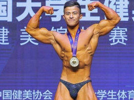 Chiński kulturysta Zhang Nu jadł 70 białek jaj dziennie