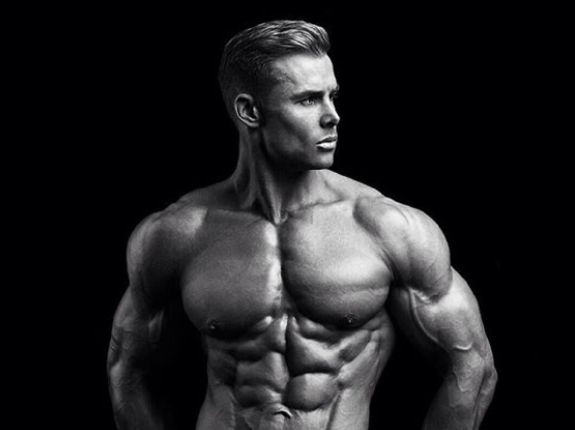 Vinny Gough - irlandzki model fitness