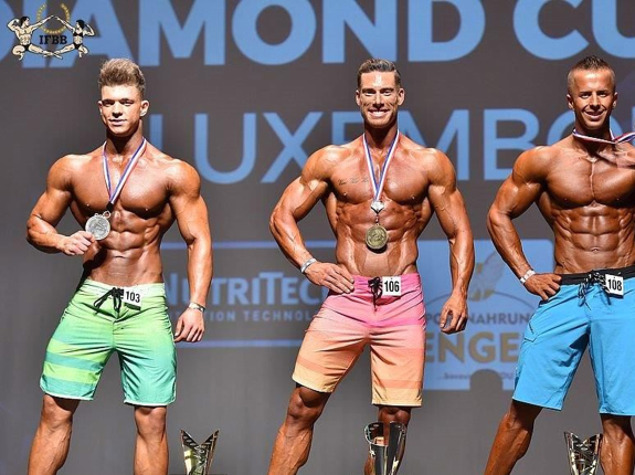 IFBB Diamond Cup w Luxemburg 2018