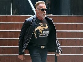 Schwarzenegger przyłapany w nowej stylówce