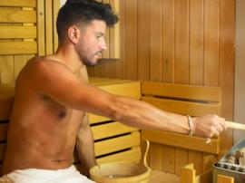 Regularne korzystanie z sauny wiąże się ze zmniejs