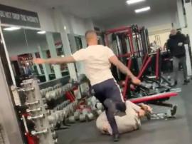 Bójka w siłowni
