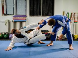 Siłownia i brazylijskie jiu-jitsu