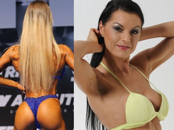 "Ewelina ""Amazing Shape"" vs Justyna ""Joker face"""