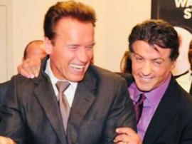 Sylvester Stallone nie przepadał za Arnoldem Schwarzeneggerem