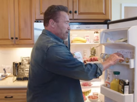 Co ma w  lodówce Arnold Schwarzenegger?