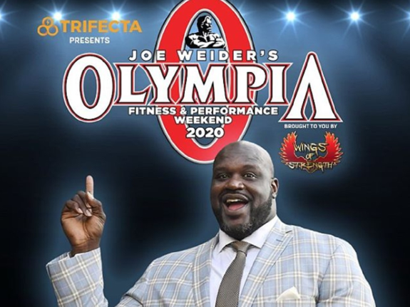 Shaquille O'Neil ambasadorem Olympia Weekend 2020