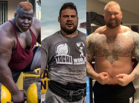 TOP 5 rekordów w strongman