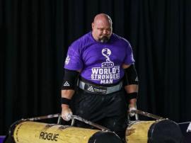 Niedawne zawody World's Strongest Man 2020 przedst