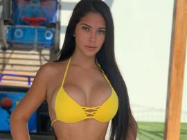 Piękna Meksykanka Ana Paula Saenz
