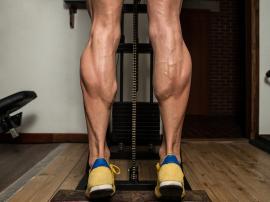 Trening mięśni łydek, uznanych za najbardziej opor