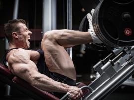 Rozbudowanemięśnie nóg są oznaką, że mamy do czyn