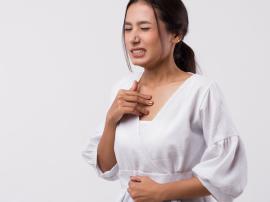 Refluks, inaczej choroba refluksowa przełyku, przy