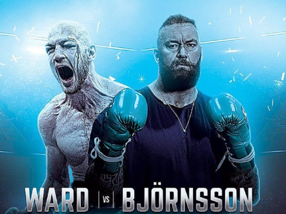 Hafthor Bjornsson vs. Steven Ward