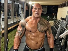 """Dwayne """"The Rock"""" Johnson swoim wyglądem i posturą"""
