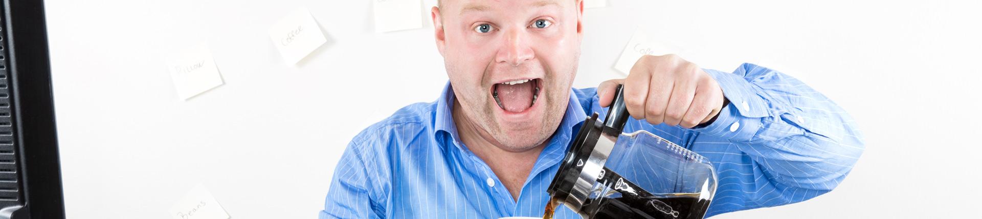 Kofeina a metabolizm glukozy i stan zapalny