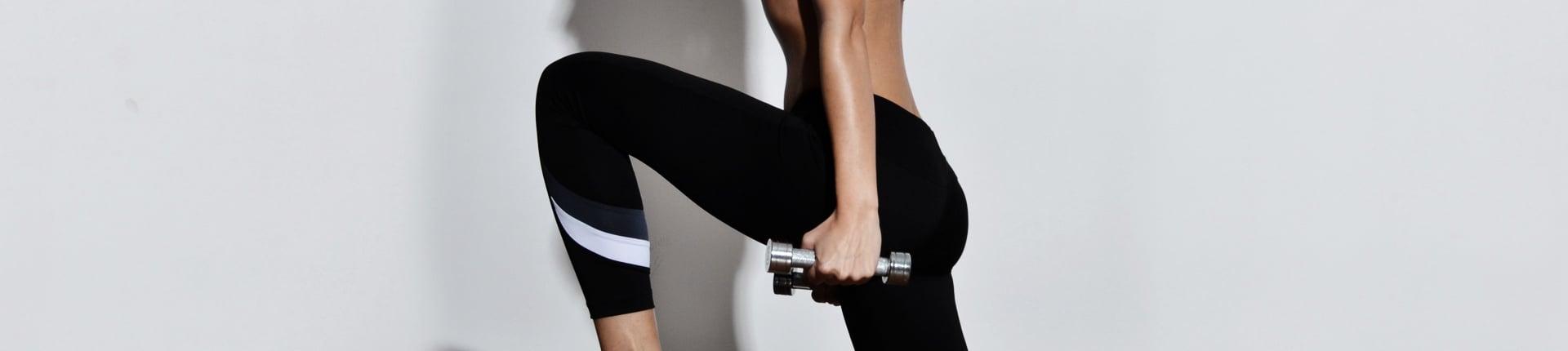 Wykroki - ćwiczenie na mięśnie czworogłowe czy pośladki?