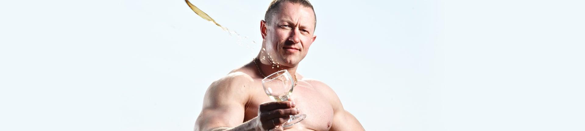 Alkohol a białko. Synteza białek mięśniowych