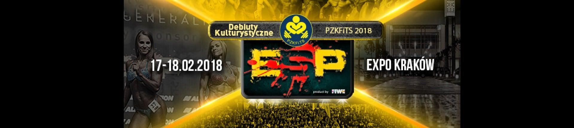 ZAPRASZAMY NA DEBIUTY 2018 ESP EUROPE SPORT POWER - 17-18.02.2018