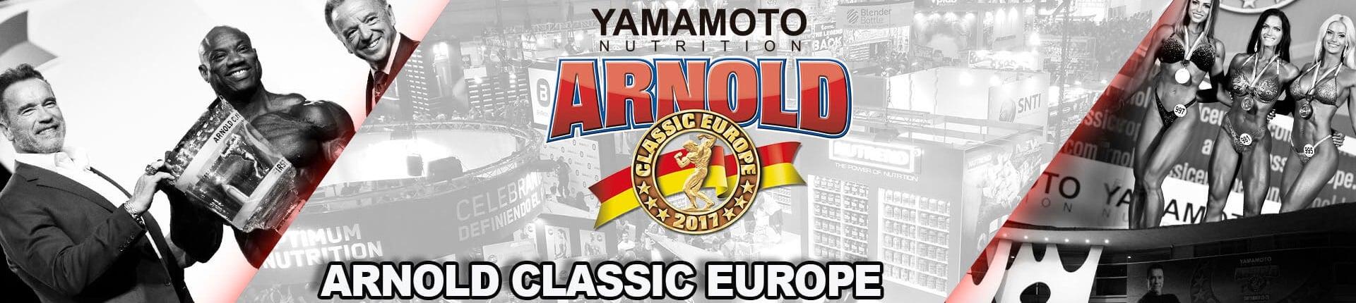 22-24.09.2017 Arnold Classic Europe - Wyniki