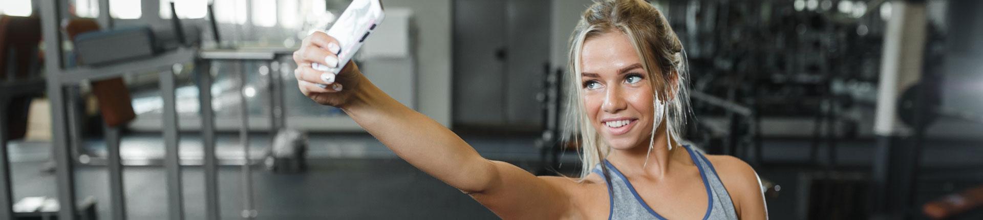 Siłownia i selfie - czy to tylko próżność?