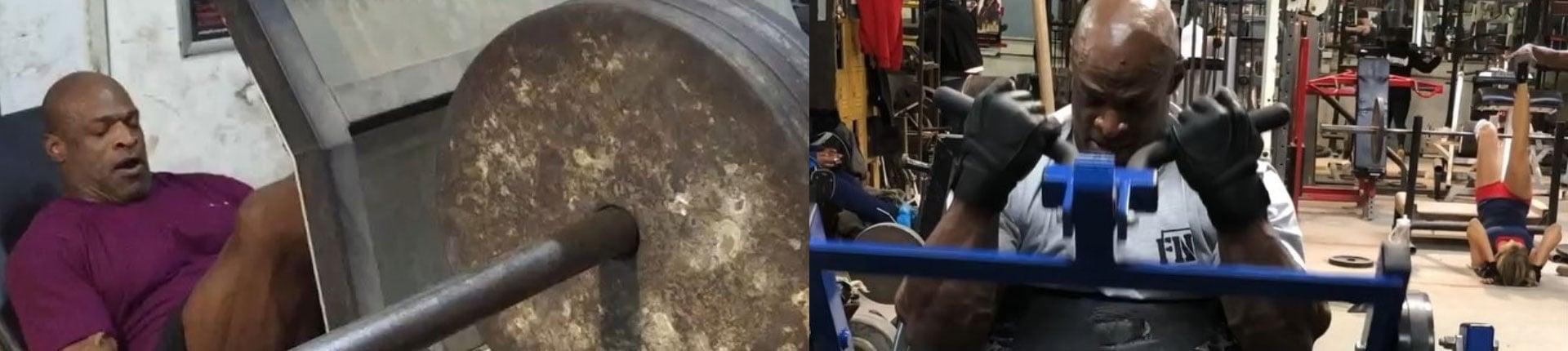 Ronnie Coleman ciężko trenuje zaledwie dwa tygodnie przed operacją!