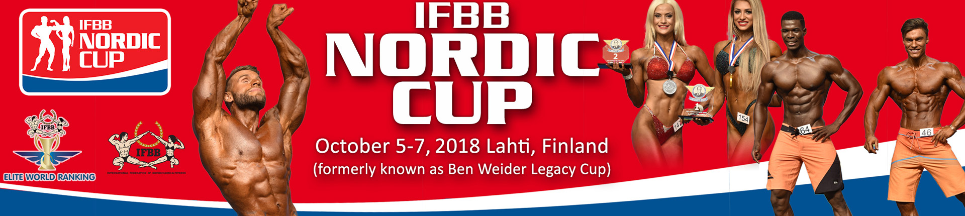 IFBB Nordic Cup – Lahti 2018