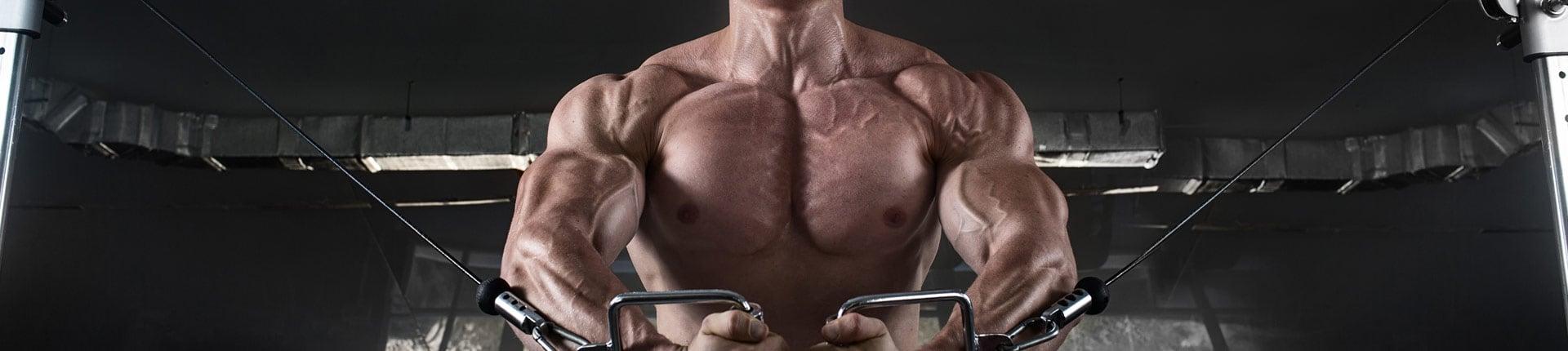 Cel: Zbudować mięśnie - zestaw suplementów na masę mięśniową
