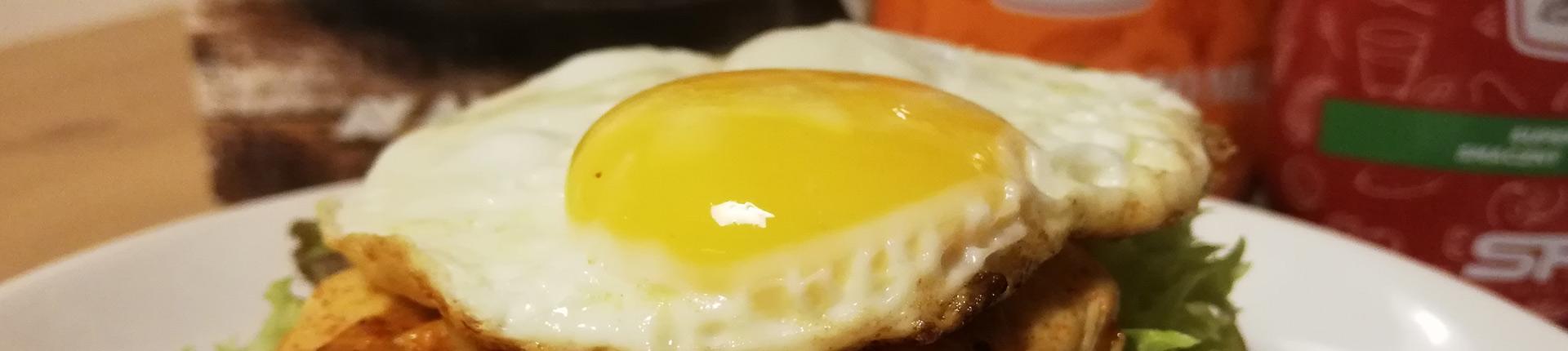 Dietetyczny proteinowy chickenburger