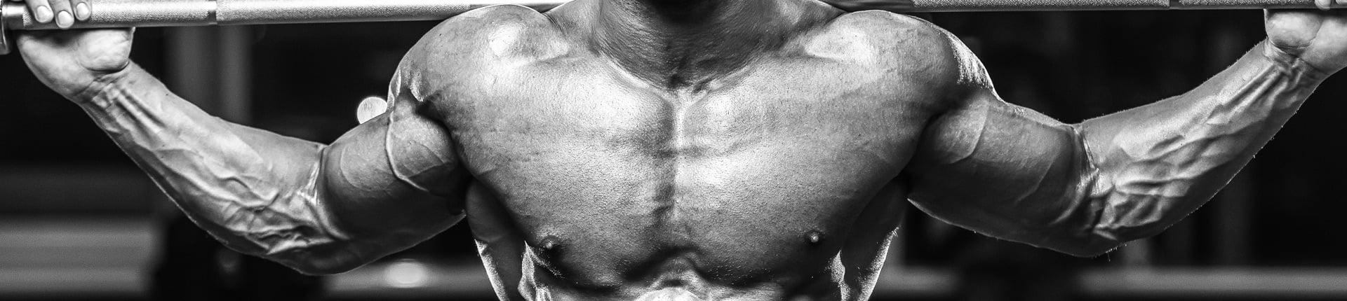 Plecy i klatka piersiowa  w superseriach - przepis na sukces wg Arnolda