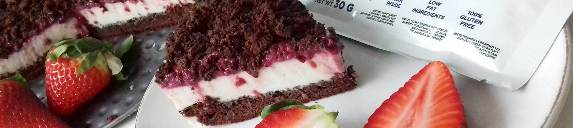Ciasto low fat wiśniowe LOVE