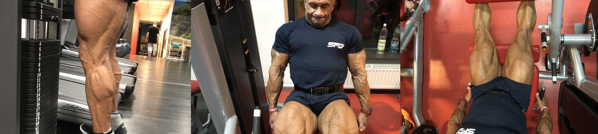 Trenuj nogi jak Sebastian Szmyt - trening nóg