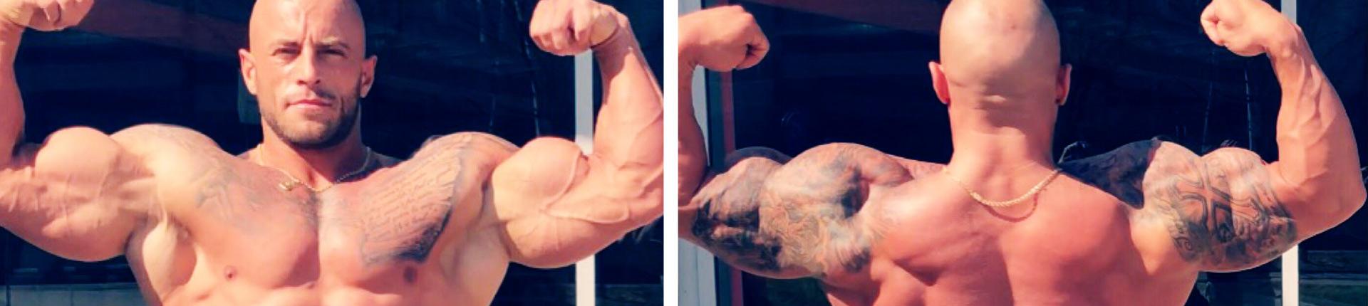 Trening bicepsów i tricepsów wg Krzysztofa Piekarza