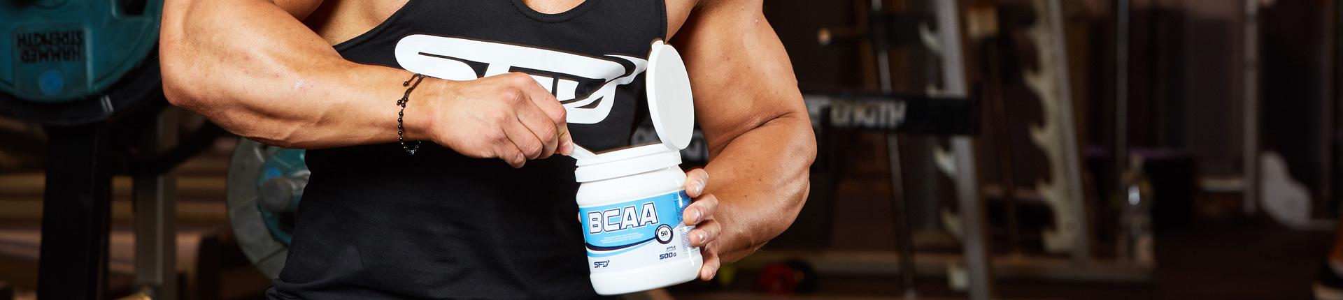 9 powodów dla których warto stosować aminokwasy BCAA