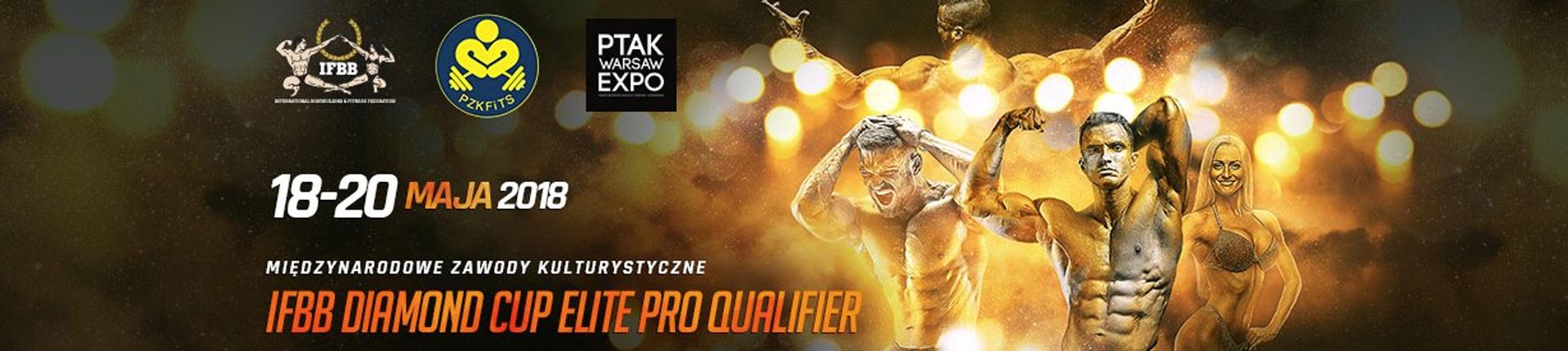 Już za kilka dni IFBB Diamond Cup Warsaw Ptak Expo