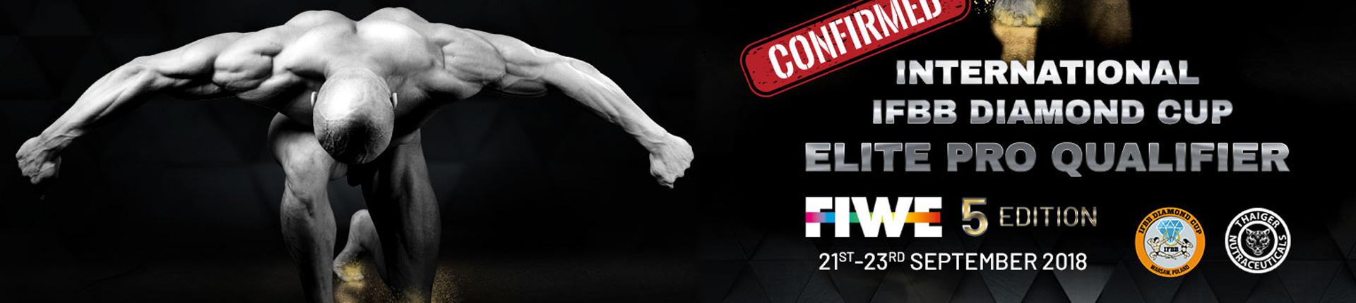 Finał IFBB DIAMOND CUP na targach FIWE w Warszawie.