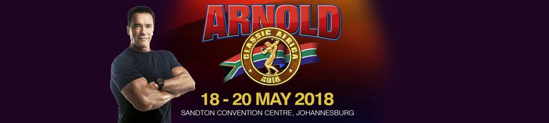 Arnold Classic Africa - Johannesburg 2018