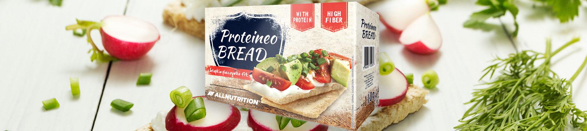 Proteineo Bread - chrupkie pieczywo FIT
