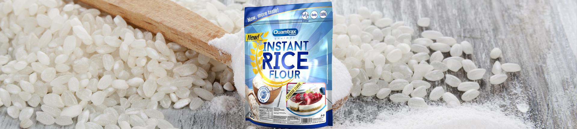 Smakowa, dietetyczna mąka ryżowa - Quamtrax Instant Rice Flour