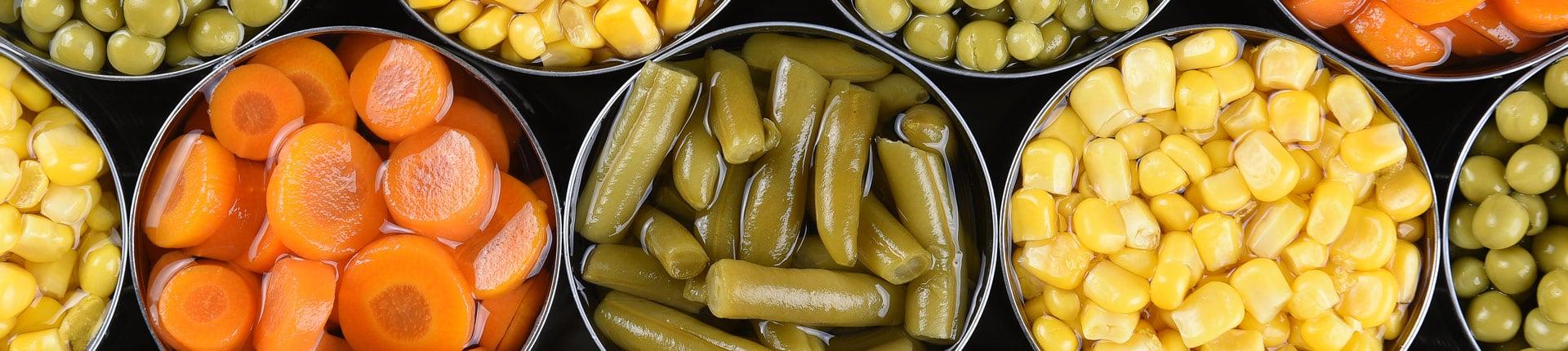 Warzywa konserwowe, świeże i mrożone - czy są one równie pożywne?