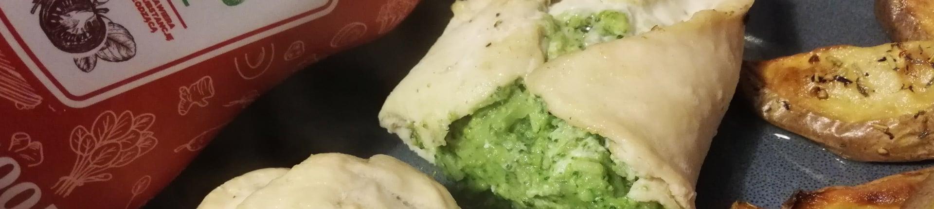 Kurczak faszerowany brokułami i parmezanem