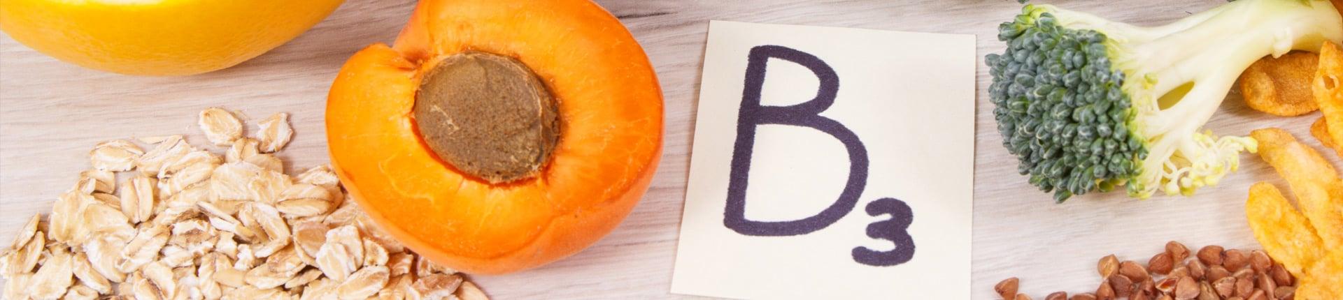Witamina B3, PP, niacyna - działanie, skutki nadmiaru i niedoboru